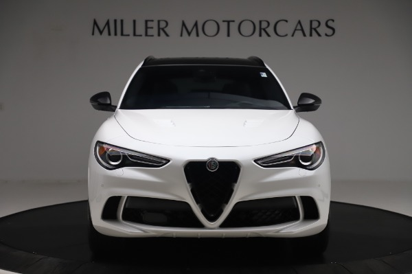 New 2020 Alfa Romeo Stelvio Quadrifoglio for sale $90,945 at Alfa Romeo of Greenwich in Greenwich CT 06830 12