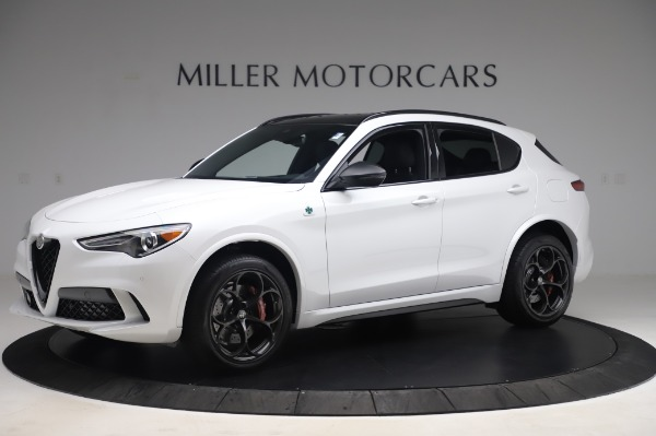 New 2020 Alfa Romeo Stelvio Quadrifoglio for sale $90,945 at Alfa Romeo of Greenwich in Greenwich CT 06830 2