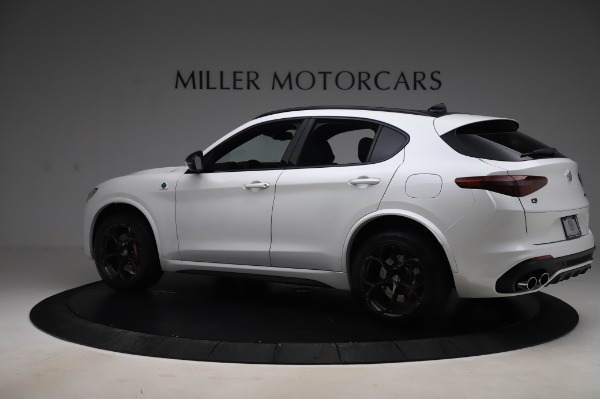 New 2020 Alfa Romeo Stelvio Quadrifoglio for sale $90,945 at Alfa Romeo of Greenwich in Greenwich CT 06830 4