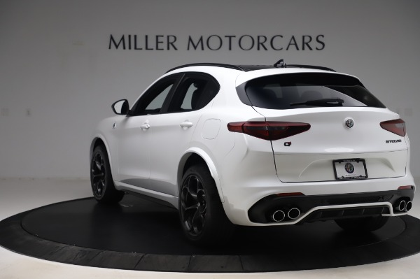 New 2020 Alfa Romeo Stelvio Quadrifoglio for sale $90,945 at Alfa Romeo of Greenwich in Greenwich CT 06830 5