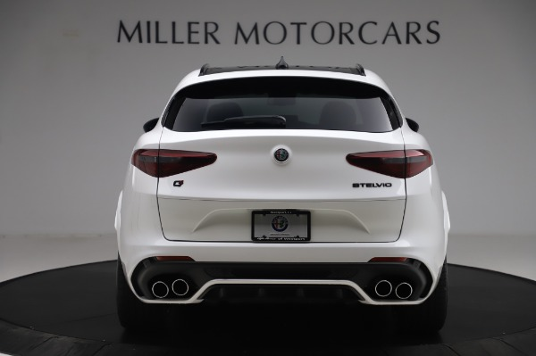 New 2020 Alfa Romeo Stelvio Quadrifoglio for sale $90,945 at Alfa Romeo of Greenwich in Greenwich CT 06830 6