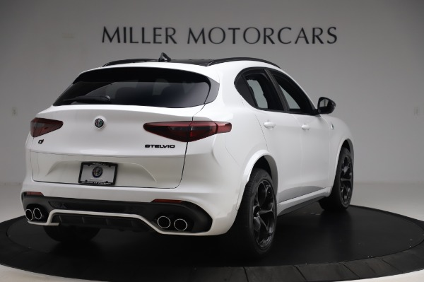 New 2020 Alfa Romeo Stelvio Quadrifoglio for sale $90,945 at Alfa Romeo of Greenwich in Greenwich CT 06830 7