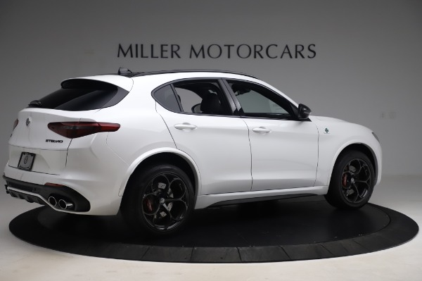 New 2020 Alfa Romeo Stelvio Quadrifoglio for sale $90,945 at Alfa Romeo of Greenwich in Greenwich CT 06830 8