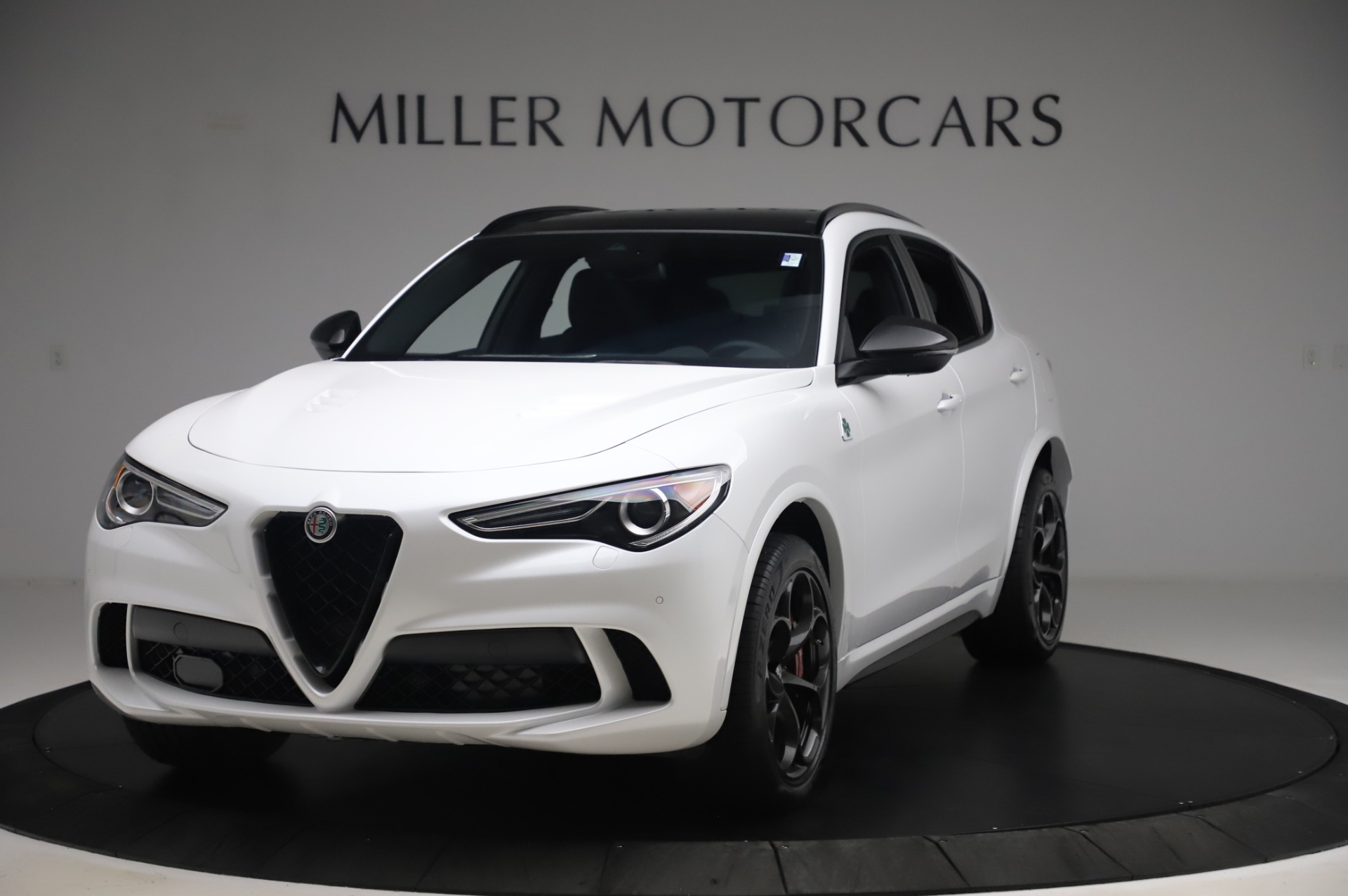 New 2020 Alfa Romeo Stelvio Quadrifoglio for sale $90,945 at Alfa Romeo of Greenwich in Greenwich CT 06830 1