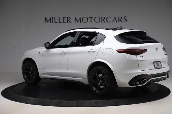 New 2020 Alfa Romeo Stelvio Quadrifoglio for sale Sold at Alfa Romeo of Greenwich in Greenwich CT 06830 4
