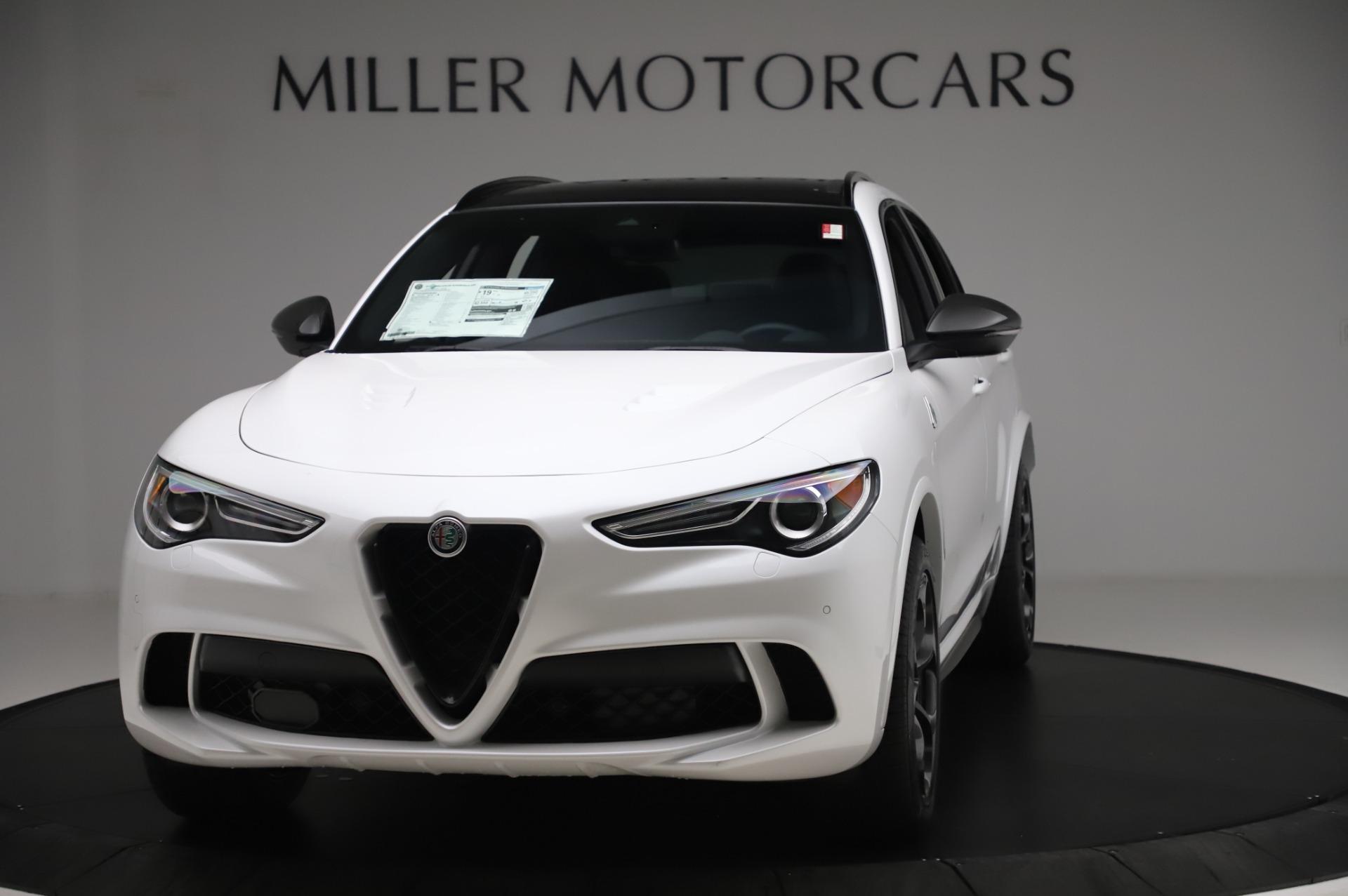 New 2020 Alfa Romeo Stelvio Quadrifoglio for sale Sold at Alfa Romeo of Greenwich in Greenwich CT 06830 1