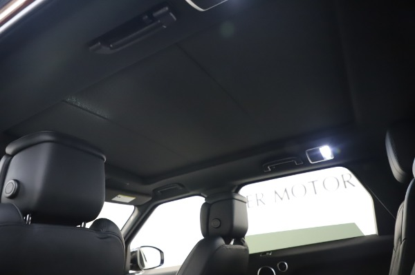 Used 2019 Land Rover Range Rover Sport Autobiography for sale Sold at Alfa Romeo of Greenwich in Greenwich CT 06830 21