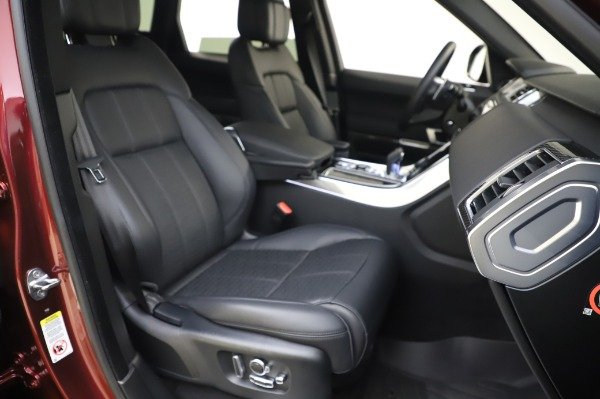 Used 2019 Land Rover Range Rover Sport Autobiography for sale Sold at Alfa Romeo of Greenwich in Greenwich CT 06830 22