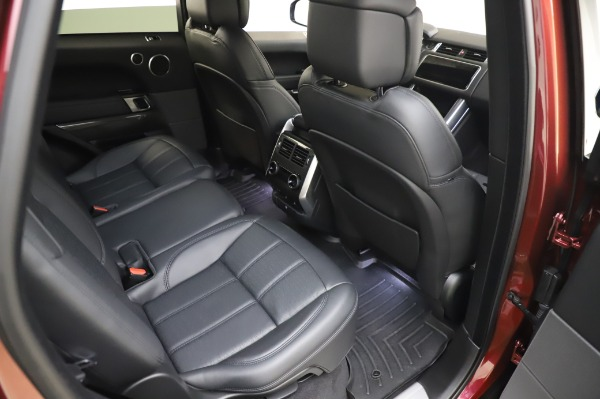 Used 2019 Land Rover Range Rover Sport Autobiography for sale Sold at Alfa Romeo of Greenwich in Greenwich CT 06830 23