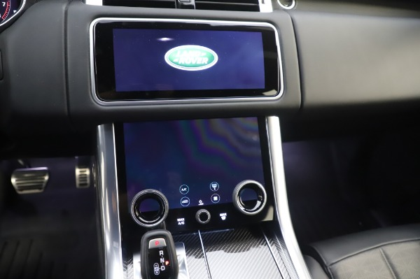 Used 2019 Land Rover Range Rover Sport Autobiography for sale Sold at Alfa Romeo of Greenwich in Greenwich CT 06830 26