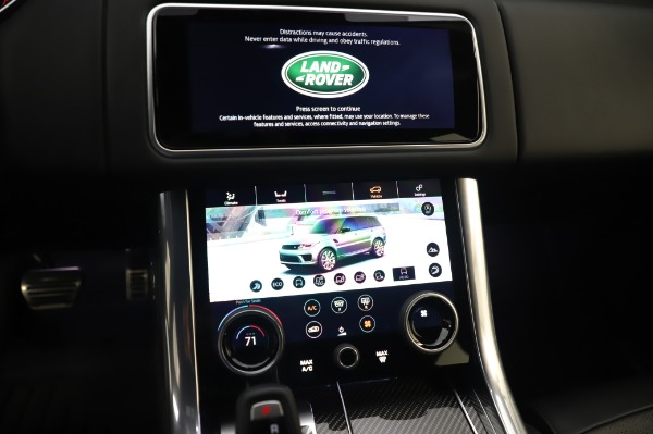 Used 2019 Land Rover Range Rover Sport Autobiography for sale Sold at Alfa Romeo of Greenwich in Greenwich CT 06830 27