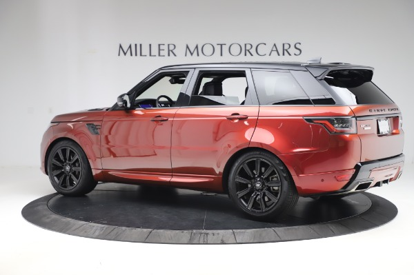 Used 2019 Land Rover Range Rover Sport Autobiography for sale Sold at Alfa Romeo of Greenwich in Greenwich CT 06830 4