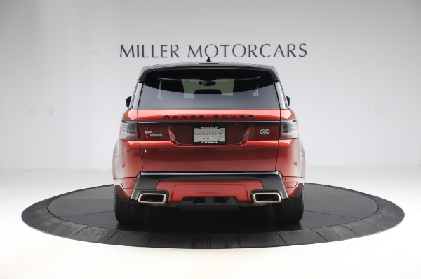 Used 2019 Land Rover Range Rover Sport Autobiography for sale Sold at Alfa Romeo of Greenwich in Greenwich CT 06830 6