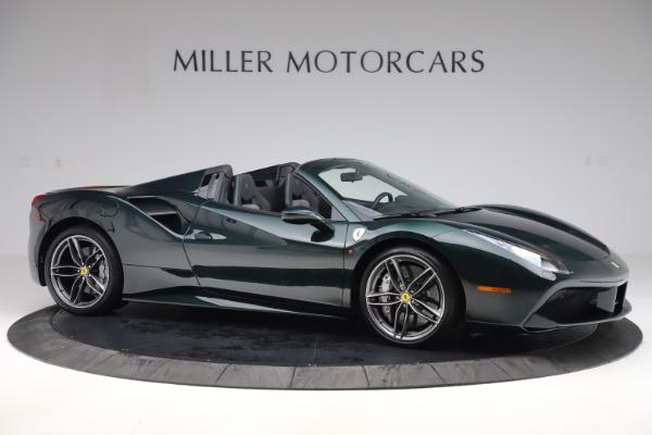 Used 2019 Ferrari 488 Spider Base for sale $329,900 at Alfa Romeo of Greenwich in Greenwich CT 06830 10