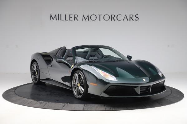 Used 2019 Ferrari 488 Spider Base for sale $329,900 at Alfa Romeo of Greenwich in Greenwich CT 06830 11