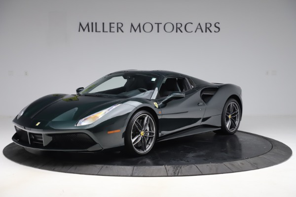 Used 2019 Ferrari 488 Spider Base for sale $329,900 at Alfa Romeo of Greenwich in Greenwich CT 06830 13