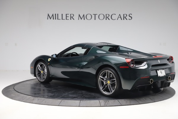 Used 2019 Ferrari 488 Spider Base for sale $329,900 at Alfa Romeo of Greenwich in Greenwich CT 06830 15