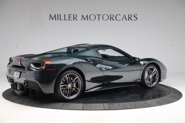 Used 2019 Ferrari 488 Spider Base for sale $329,900 at Alfa Romeo of Greenwich in Greenwich CT 06830 16