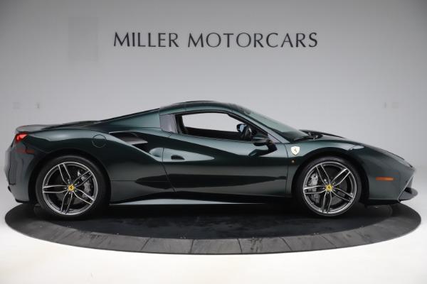 Used 2019 Ferrari 488 Spider Base for sale $329,900 at Alfa Romeo of Greenwich in Greenwich CT 06830 17