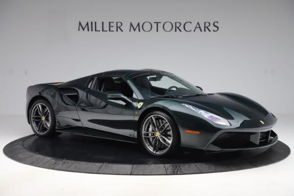 Used 2019 Ferrari 488 Spider Base for sale $329,900 at Alfa Romeo of Greenwich in Greenwich CT 06830 18