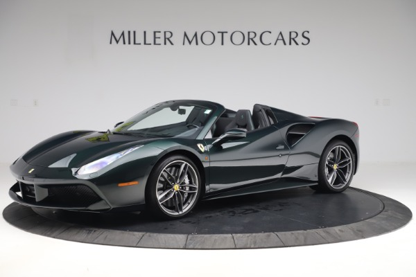Used 2019 Ferrari 488 Spider Base for sale $329,900 at Alfa Romeo of Greenwich in Greenwich CT 06830 2