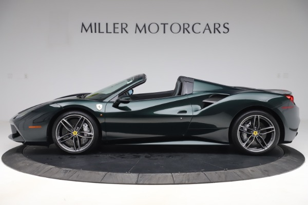 Used 2019 Ferrari 488 Spider Base for sale $329,900 at Alfa Romeo of Greenwich in Greenwich CT 06830 3
