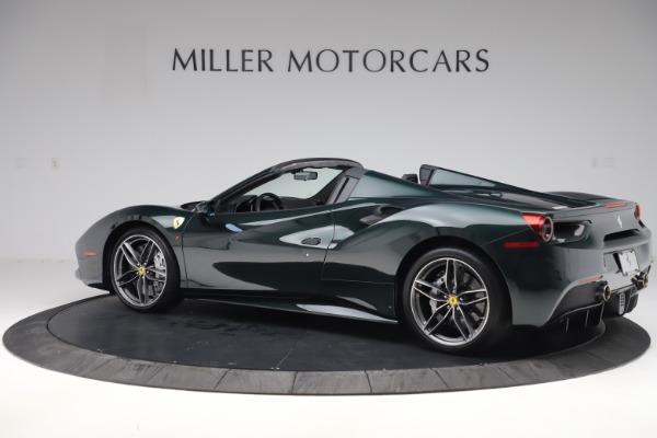 Used 2019 Ferrari 488 Spider Base for sale $329,900 at Alfa Romeo of Greenwich in Greenwich CT 06830 4