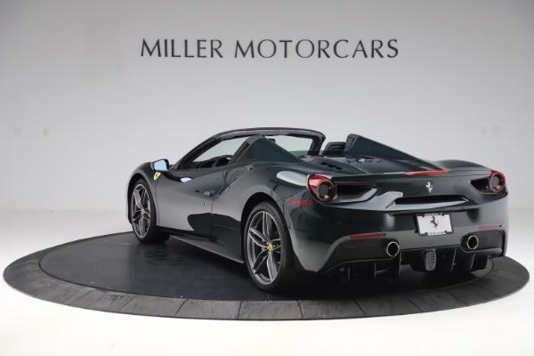 Used 2019 Ferrari 488 Spider Base for sale $329,900 at Alfa Romeo of Greenwich in Greenwich CT 06830 5