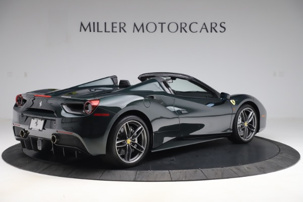 Used 2019 Ferrari 488 Spider Base for sale $329,900 at Alfa Romeo of Greenwich in Greenwich CT 06830 8