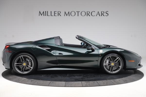 Used 2019 Ferrari 488 Spider Base for sale $329,900 at Alfa Romeo of Greenwich in Greenwich CT 06830 9