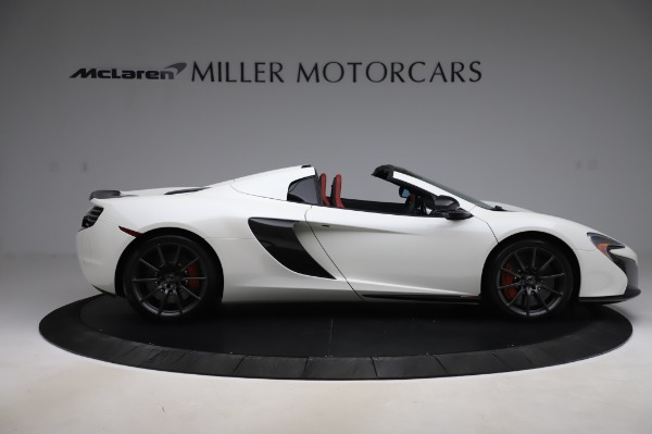 Used 2016 McLaren 650S Spider for sale $159,900 at Alfa Romeo of Greenwich in Greenwich CT 06830 10