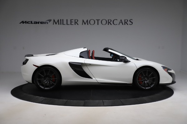 Used 2016 McLaren 650S Spider for sale $159,900 at Alfa Romeo of Greenwich in Greenwich CT 06830 11