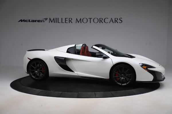 Used 2016 McLaren 650S Spider for sale $159,900 at Alfa Romeo of Greenwich in Greenwich CT 06830 12
