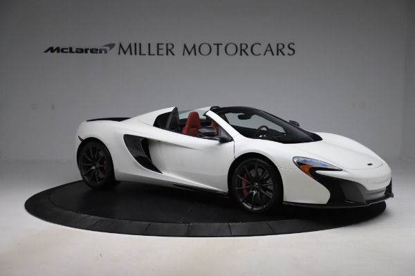Used 2016 McLaren 650S Spider for sale $159,900 at Alfa Romeo of Greenwich in Greenwich CT 06830 13