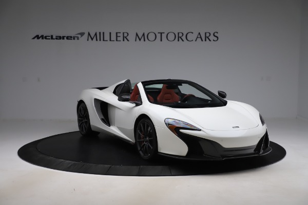 Used 2016 McLaren 650S Spider for sale $159,900 at Alfa Romeo of Greenwich in Greenwich CT 06830 14