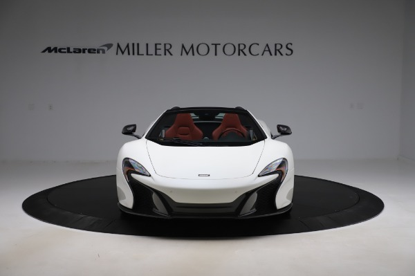 Used 2016 McLaren 650S Spider for sale $159,900 at Alfa Romeo of Greenwich in Greenwich CT 06830 15