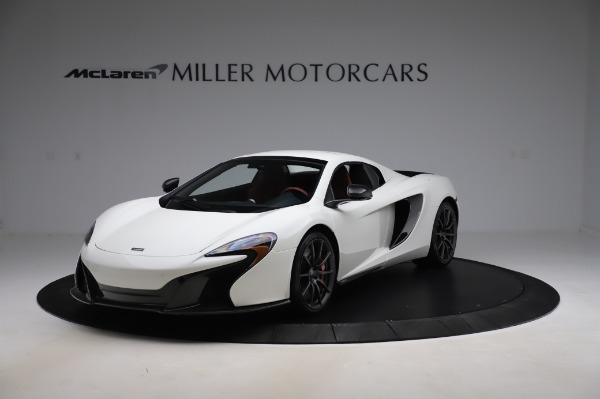 Used 2016 McLaren 650S Spider for sale $159,900 at Alfa Romeo of Greenwich in Greenwich CT 06830 16