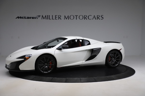 Used 2016 McLaren 650S Spider for sale $159,900 at Alfa Romeo of Greenwich in Greenwich CT 06830 17
