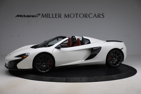 Used 2016 McLaren 650S Spider for sale $159,900 at Alfa Romeo of Greenwich in Greenwich CT 06830 2