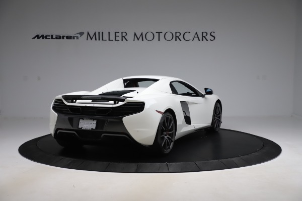 Used 2016 McLaren 650S Spider for sale $159,900 at Alfa Romeo of Greenwich in Greenwich CT 06830 22