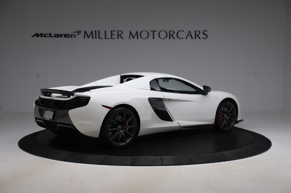 Used 2016 McLaren 650S Spider for sale $159,900 at Alfa Romeo of Greenwich in Greenwich CT 06830 23