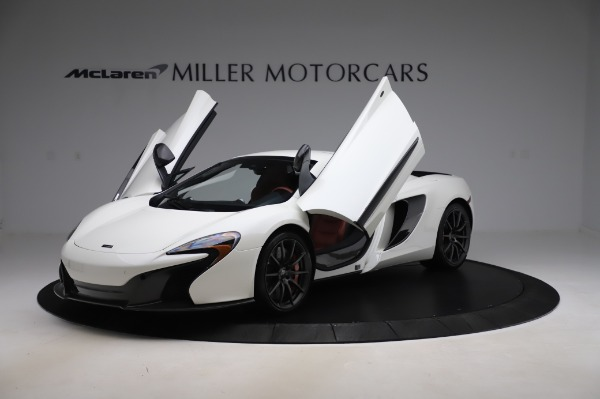 Used 2016 McLaren 650S Spider for sale $159,900 at Alfa Romeo of Greenwich in Greenwich CT 06830 28
