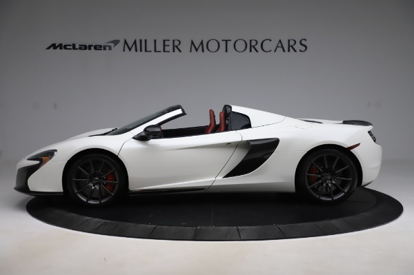 Used 2016 McLaren 650S Spider for sale $159,900 at Alfa Romeo of Greenwich in Greenwich CT 06830 3