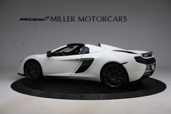 Used 2016 McLaren 650S Spider for sale $159,900 at Alfa Romeo of Greenwich in Greenwich CT 06830 4