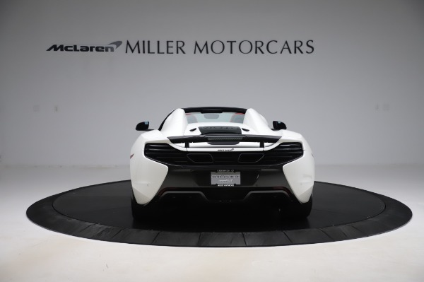 Used 2016 McLaren 650S Spider for sale $159,900 at Alfa Romeo of Greenwich in Greenwich CT 06830 6