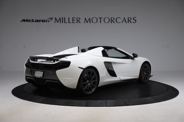 Used 2016 McLaren 650S Spider for sale $159,900 at Alfa Romeo of Greenwich in Greenwich CT 06830 8