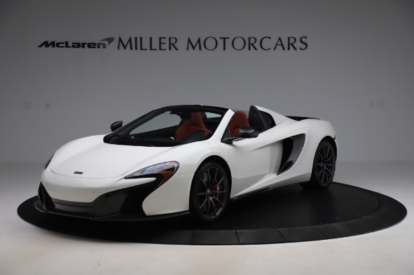 Used 2016 McLaren 650S Spider for sale $159,900 at Alfa Romeo of Greenwich in Greenwich CT 06830 1