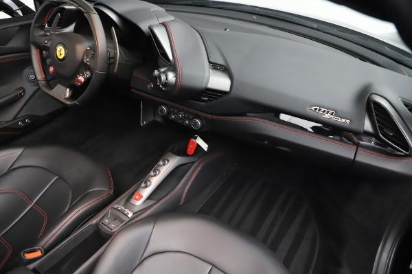Used 2018 Ferrari 488 Spider for sale Sold at Alfa Romeo of Greenwich in Greenwich CT 06830 28