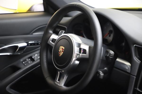 Used 2013 Porsche 911 Carrera 4S for sale $74,900 at Alfa Romeo of Greenwich in Greenwich CT 06830 23