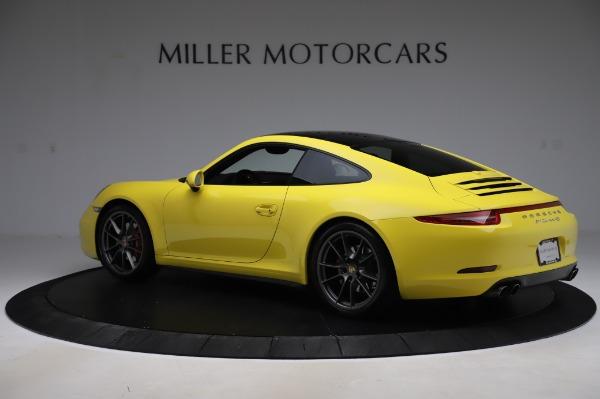 Used 2013 Porsche 911 Carrera 4S for sale $74,900 at Alfa Romeo of Greenwich in Greenwich CT 06830 4